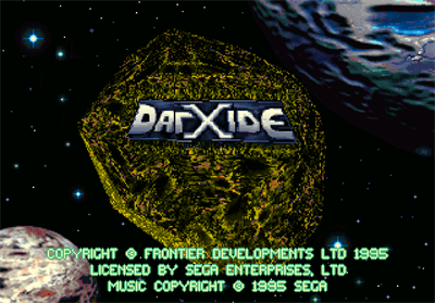 DarXide - Screenshot - Game Title