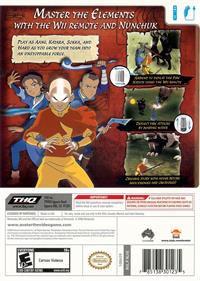 Avatar: The Last Airbender - Box - Back