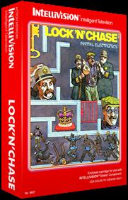 Lock 'n' Chase - Box - 3D
