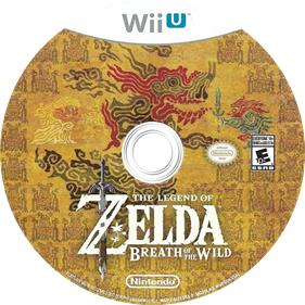 The Legend of Zelda: Breath of the Wild - Disc