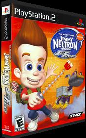 The Adventures of Jimmy Neutron: Boy Genius: Jet Fusion - Box - 3D