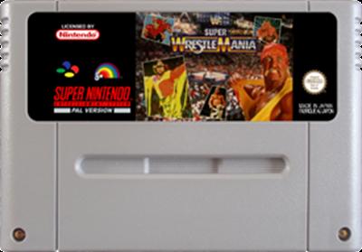 WWF Super WrestleMania - Fanart - Cart - Front