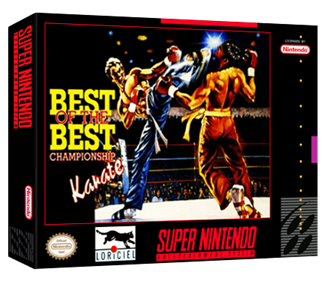Best of the Best: Championship Karate - Box - 3D