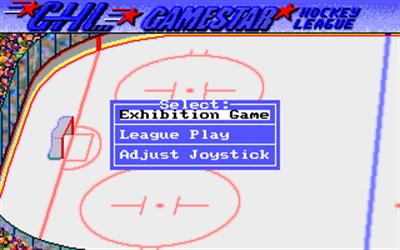 Face Off! - Screenshot - Game Select