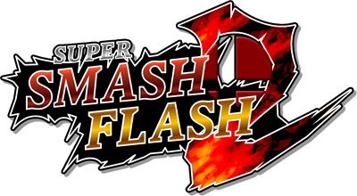 Super Smash Flash 2 - Clear Logo