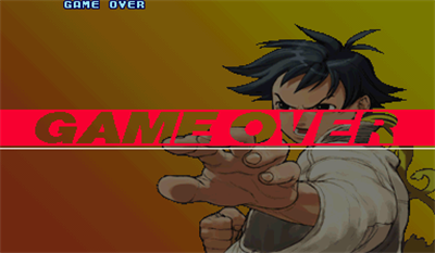 Street Fighter III: 3rd Strike: Fight for the Future - Screenshot - Game Over
