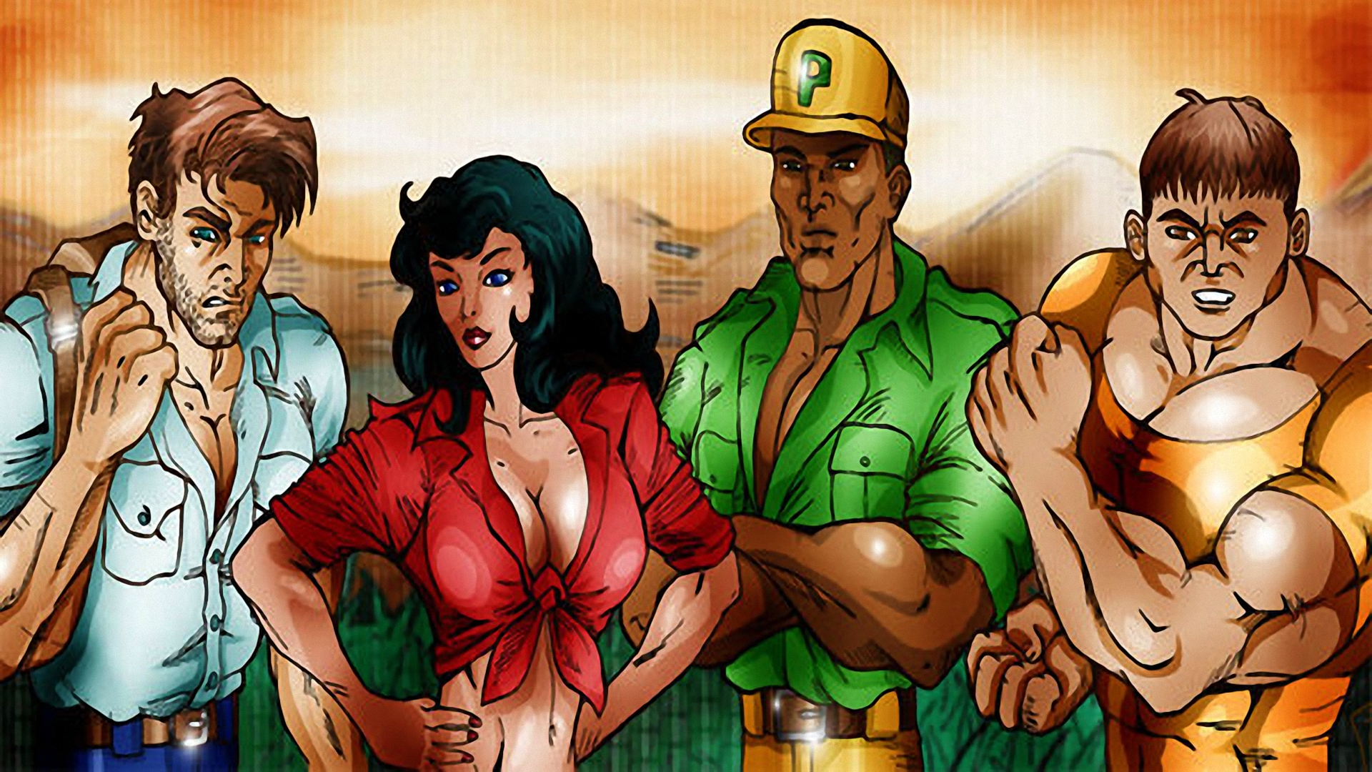 Cadillacs And Dinosaurs Details Launchbox Games Database