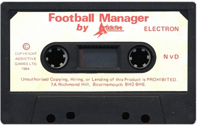 Football Manager - Cart - Front