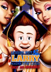 Leisure Suit Larry: Magna Cum Laude - Fanart - Box - Front