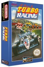 Al Unser Jr. Turbo Racing - Box - 3D