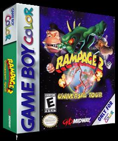 Rampage 2: Universal Tour - Box - 3D