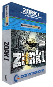 Zork I: The Great Underground Empire - Box - 3D