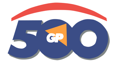 500 GP - Clear Logo