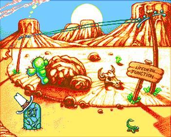 Cartoon Line: Part One - Screenshot - Game Over