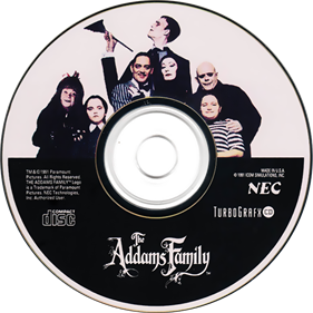 The Addams Family - Disc