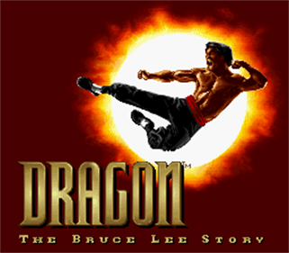 Dragon: The Bruce Lee Story - Screenshot - Game Title