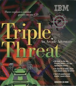 Triple Threat: An Arcade Adventure