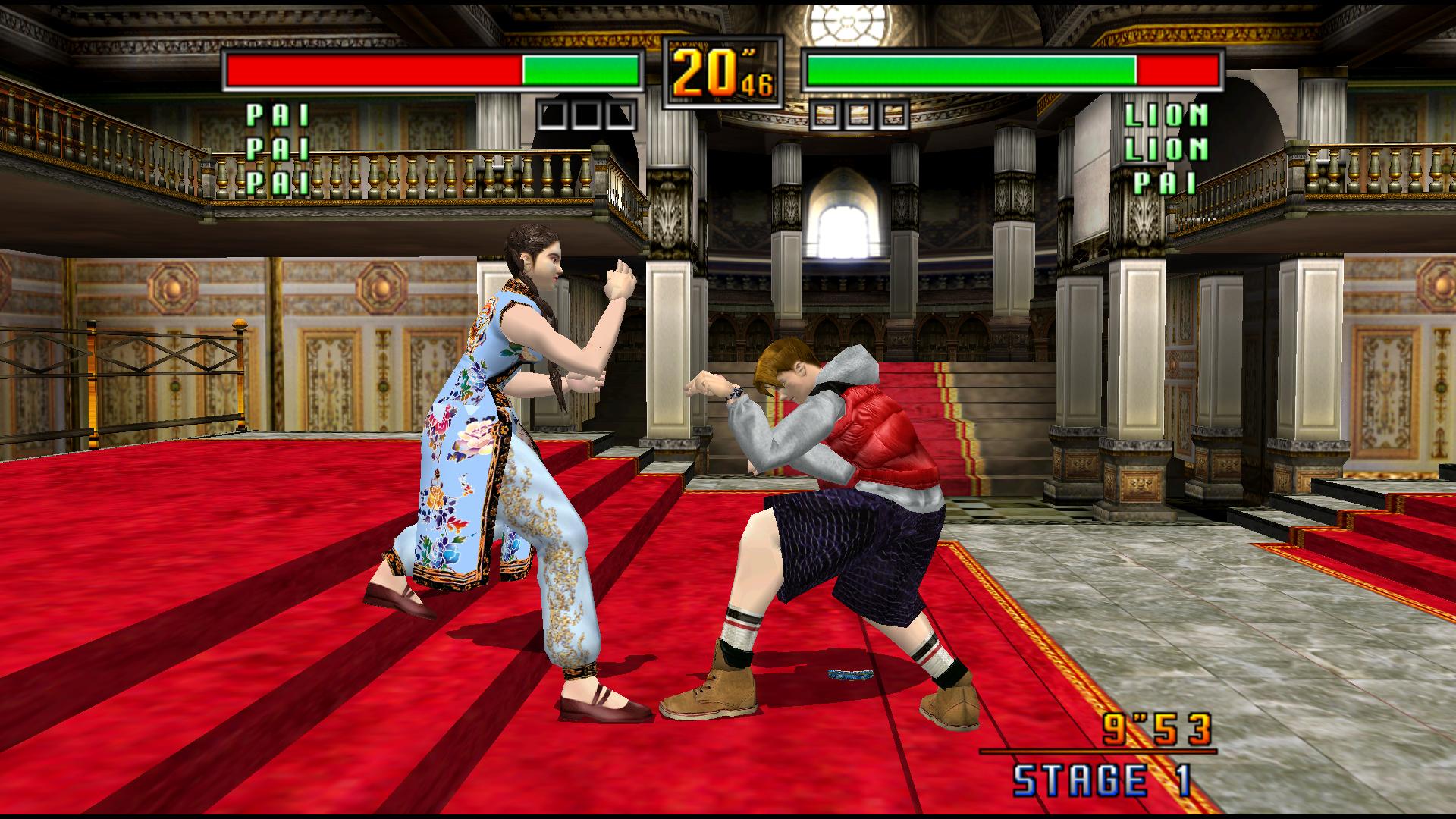 Virtua Fighter 3 Team Battle Details LaunchBox Games