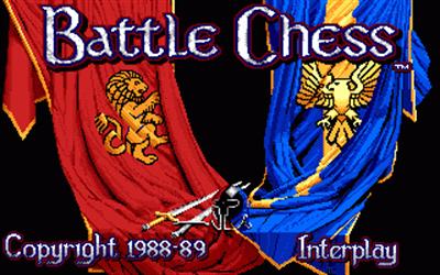 Battle Chess - Screenshot - Game Title