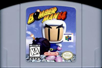 Bomberman 64 - Cart - Front