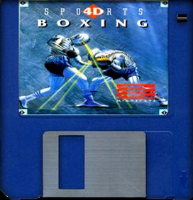 4D Sports Boxing - Fanart - Disc