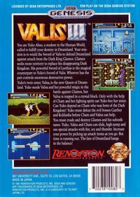 Valis III - Box - Back