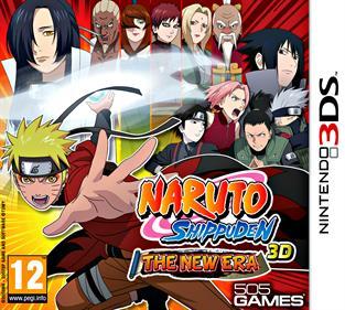Naruto Shippuden: The New Era  - Box - Front