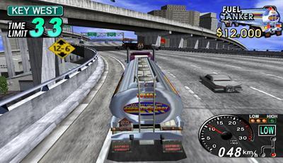 18 Wheeler: American Pro Trucker - Screenshot - Gameplay