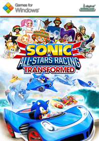 Sonic & All-Stars Racing Transformed - Fanart - Box - Front