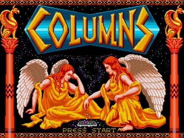 Columns - Screenshot - Game Select