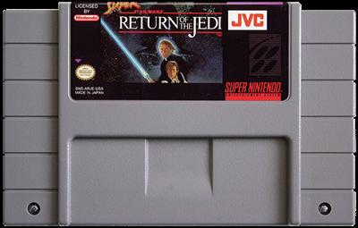 Super Star Wars: Return of the Jedi - Fanart - Cart - Front