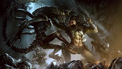 Alien vs. Predator - Fanart - Background