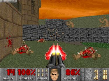 DOOM II - Screenshot - Gameplay