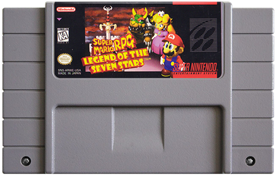 Super Mario RPG: Legend of the Seven Stars - Cart - Front