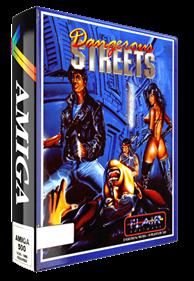 Dangerous Streets - Box - 3D