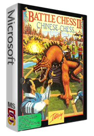 Battle Chess II: Chinese Chess - Box - 3D