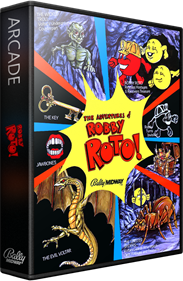 The Adventures of Robby Roto! - Box - 3D