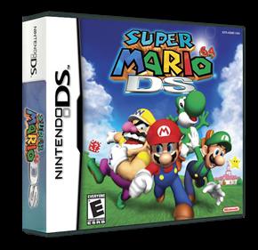 Super Mario 64 DS - Box - 3D