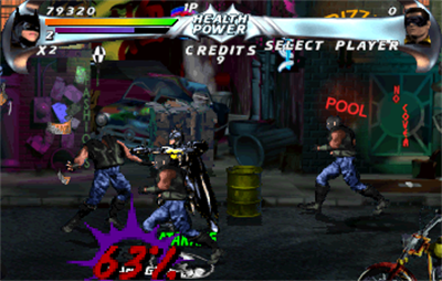 Batman Forever - Screenshot - Gameplay