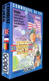 Combat School - Box - 3D