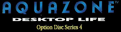 Aquazone: Desktop Life Option Disc Series 4: Clown Loach - Clear Logo