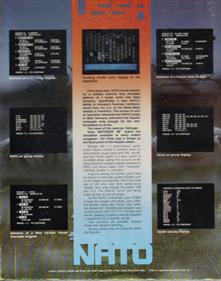 Reforger '88 - Box - Back