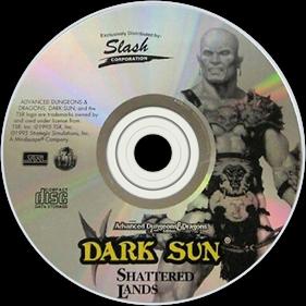 Dark Sun: Shattered Lands - Disc