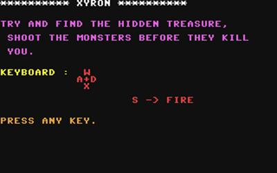 Xyron - Screenshot - Game Title