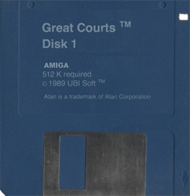 Great Courts - Disc