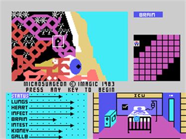 Microsurgeon - Screenshot - Game Title