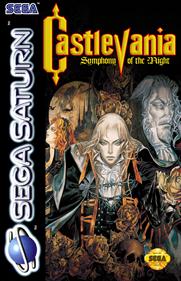 Akumajou Dracula X: Gekka no Yasoukyoku - Fanart - Box - Front