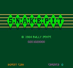 Snake Pit - Screenshot - Game Title