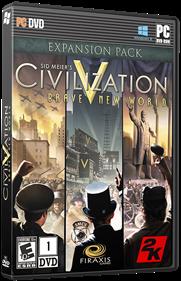 Civilization V: Brave New World - Box - 3D