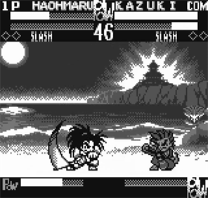 Samurai Shodown!: Pocket Fighting Series - Screenshot - Gameplay